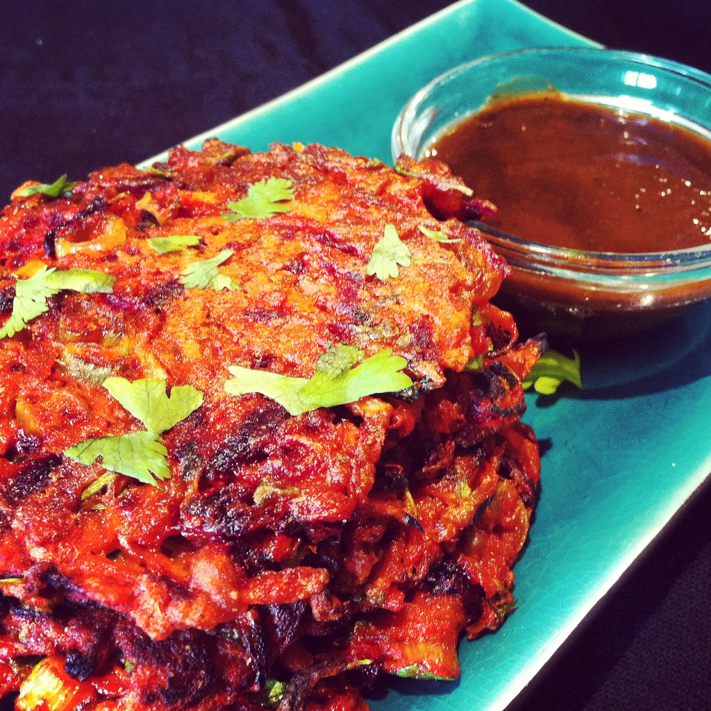 Spiced Root Vegetable Fritters